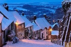 Gold Hill, Shaftesbury, England