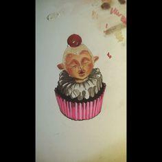Cupcake fairy con rotuladores ZAP