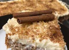 Καρυδόπιτα με κρέμα! Υπέροχη γεύση Cake Recipes, Dessert Recipes, Greek Desserts, Tiramisu, Food And Drink, Sweets, Cooking, Ethnic Recipes, Kitchen