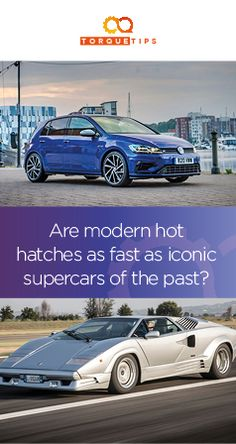 Modern hot hatches have truly mind-bending performance, with power figures that would blow the mind of car enthusiasts from even a decade or so ago.  With manufacturers able to get more power out of smaller engines and mechanical advancements helping to make cars able to utilise that performance, it's fascinating to compare today's fast family cars with exotic machinery from the not-too-distant past…