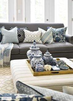 From adding a touch of your favorite color to swapping out small accessories and pillows, it is so simple to ring in the Spring season with these five go-to spring decorating tips! #spring #springdecorating #springdecoratingideas