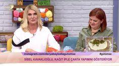Derya Baykal'la Gülümse: Kağıt İple Çanta Yapımı - YouTube