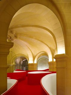 Hôtel Thoumieux on the Left Bank, Paris.  created by Thierry Costes and designer India Mahdavi