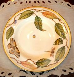 """White House China Patterns - Bush China.  Not sure if this was """"W"""" or """"HW"""", but I like it.  Looks like Lenox."""