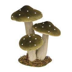 Wanneer het herfst wordt, komen er weer overal paddenstoelen uit de grond zetten. Deze vliegenzwammen mogen dan ook echt niet ontbreken op een herfsttafel!