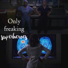 Grey's Anatomy • Stephanie & Amelia