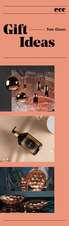 All products exclusive to ECC in New Zealand and authentic design classics that carry full manufacturers guarantees Tom Dixon, Gift Ideas, Luxury, Gifts, Presents, Favors, Gift