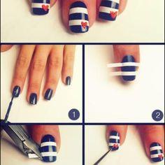navy nail