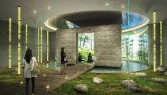 세계유교․선비문화공원 및 한국문화테마파크 Restaurant Plan, Corporate Office Design, Outdoor Learning, Yacht Design, Exhibition Space, View Map, Design Museum, Interior Architecture, Landscape Design