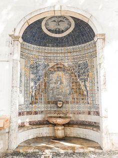 Le joli quartier de l'Alfama à Lisbonne : les azulejos