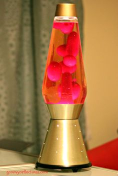 What Is In A Lava Lamp Fascinating Vintage Green Christmas Tree Glitter Lava Lamp Motion Lamp