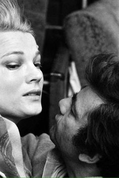 Gena Rowlands and Peter Falk.  A Woman Under The Influence. John Cassavetes.