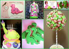 Love the cookies and the cake. Way to Girly for a boys party but lots to borrow from