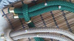 Χειροποίητα κολιέ απο ορειβατικο κορδόνι με στρας και επιχρυσωμενα στοιχεία www.etsy.com/shop/bizeli Handmade Necklaces, Clothes Hanger, Color, Etsy, Coat Hanger, Clothes Hangers, Colour, Clothes Racks, Colors
