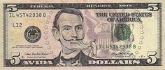 U.S. money redesigned with contemporary icons | Dangerous Minds