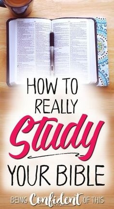 Do you sometimes find the Bible hard to understand? Do you lack confidence in your Bible knowledge? Learn why and how to study the Bible for yourself - find a Bible study method that works for you! Bible Study Methods by Arabah Joy Christian women