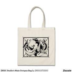 ZNDC Studio's Main Octopus Bag
