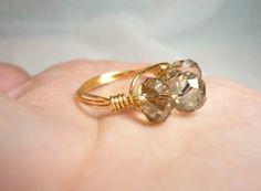 Gold Smoke Ring $11.00