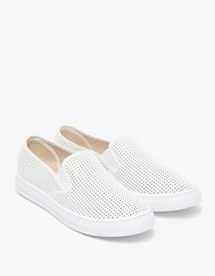Brooks Slip-ons in White