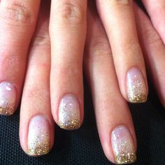 Now that I've dicovered gel nails... the look I want for next time - glitter gradient!