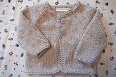 Gilet 3 boutons (taille 6 mois)