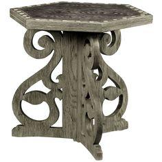 Jonathan Charles Collamore Charcoal Oak Table