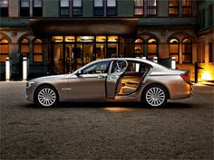 Nothing says luxury like a BMW 7 Series Sedan.