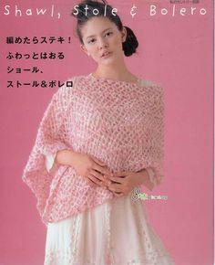 日文 Japanese crochet shawl编织披肩 - 念奴娇nn - Picasa Albums Web