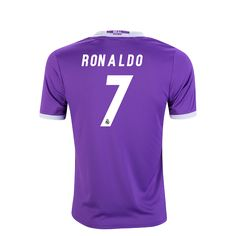 Real Madrid 16/17 Cristiano Ronaldo Youth Away Soccer Jersey  | $90.45 | Holiday Gift & Stocking Stuffer ideas for the Real Madrid fan at WorldSoccerShop.com