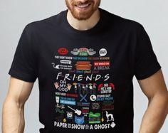 90s clothing men Cosplay shirt Women shirt 90s t shirt 90s clothing Movie shirt Unisex t shirt Friends tv show shirt Graphic tee