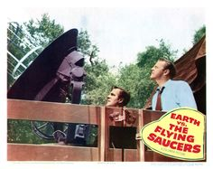 Earth Vs. The Flying Saucers 1956 Lobby Card 3