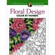 The hottest crafting trend? Adult coloring books! Our huge selection makes great stocking stuffers. Dover Publications-Creative Haven Floral Design