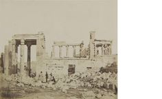 View of the Erechtheum from the west.  Athens, 1853-1854  James Robertson (ΦΑ_1_89)