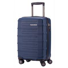 Ostkreuz - Handgepäck Hartschale Dunkelblau matt, TSA, 55 cm, 37 Liter - Blaue #Reisetrolleys von #Hauptstadtkoffer.  #Hartschalenkoffer #Handgepäck #Cabinsize #Boardtrolley #blau #Rollkoffer #Trolley #Koffer #Travel #Luggage #Reisen #Urlaub #blue #bleu => mehr blaue #Reisekoffer: https://hauptstadtkoffer.de/de/reisegepack/alle-produkte