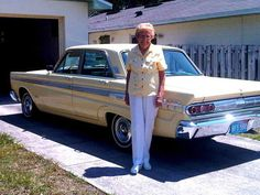 After 567,000 Miles And 48 Years, Florida Woman Parks Her 'Chariot' : The Two-Way : NPR