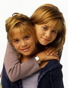 pictures of mary kate and ashley olsen on full house - Google Search
