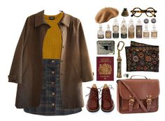 """""""fantastic beasts"""" by waytogojackie ❤ liked on Polyvore featuring Monki, MM6 Maison Margiela, H&M, A.P.C., CO, Hourglass Cosmetics, ASOS, harrypotter, oldie and fantasticbeastsandwheretofindthem"""