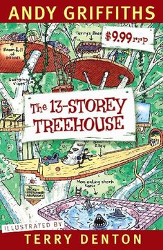 The hugely popular Treehouse series of books are silly and lots of fun - great for reluctant readers aged 7 and up.