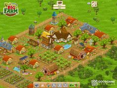 Play #GoodGameBigFarm. Uncle George has left you his farm, but unfortunately it's in pretty bad shape. Using business skills and the help of your neighbors, family and friends you can turn the overgrown barnyard into a beautiful and prosperous farm again. Plant the right crops, harvest and process them, care for your animals and make sure that your workers are happy – this is how your farm will grow successfully.