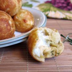 Garlic and Rosemary Pizza Bites recipe