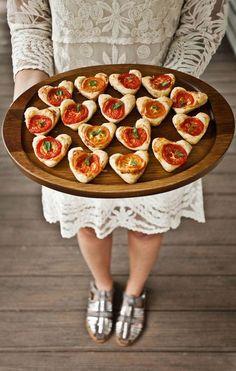 Tomato basil hearts
