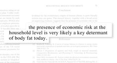 Source: Insecurity, Inequality and Obesity in Affluent Societies - (Offer, Peckey, Ulijaszek)