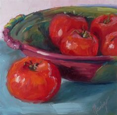 """Daily Paintworks - """"Harvest"""" - Original Fine Art for Sale - © Sharman Owings"""