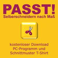 PASST! Selberschneidern nach Maß - kostenloser Download - Schnittmuster