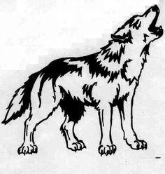 Tribal Wolf Tattoos: Wolf Tattoo Design Ideas ~ tattooeve.com Tattoo Ideas Inspiration