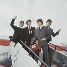 Happy 50th Anniversary! The Beatles arrive in the US fifty years ago today, February 7th 1964.