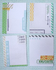 Stamping for Project Life with Lisa Truesdell - Making Journaling cards