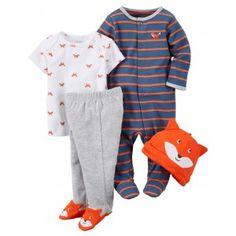 Carter's 4 peças - Pijama Take Me Home