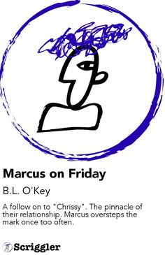 """Marcus on Friday by B.L. O'Key https://scriggler.com/detailPost/story/119079 A follow on to """"Chrissy"""". The pinnacle of their relationship. Marcus oversteps the mark once too often."""