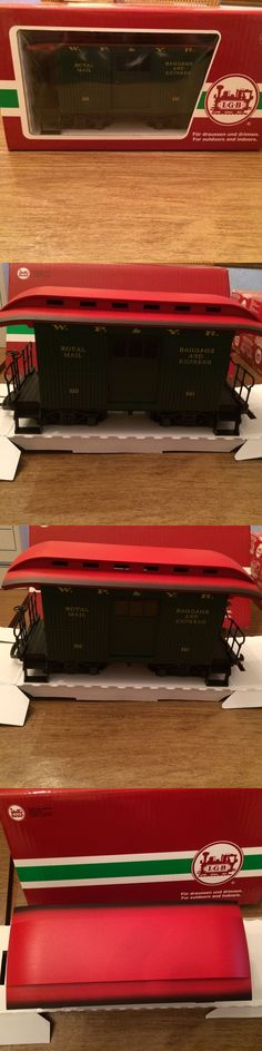 Passenger Cars 122575: Lgb 33050 White Pass And Yukon Short Baggage Car W 4 Wheel Trucks New In Box! -> BUY IT NOW ONLY: $199.99 on eBay!